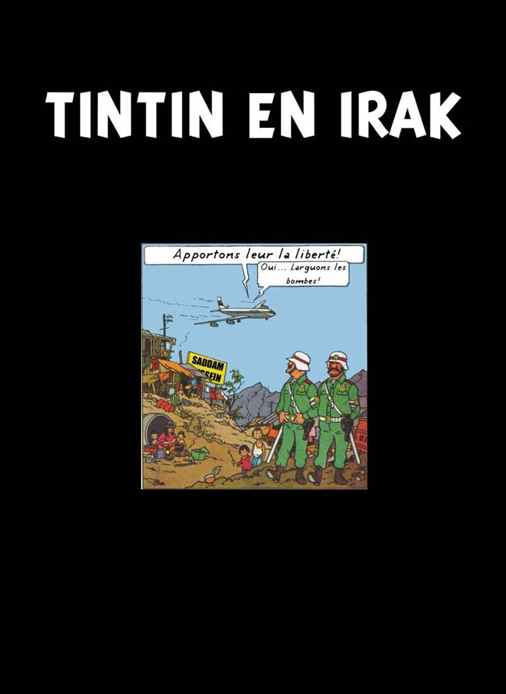 Tintin Movie � Tintin in Iraq